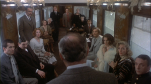 Very similar to Murder on the Orient Express where every character as a motive for killing the man.